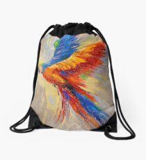 Parrot Drawstring Bag