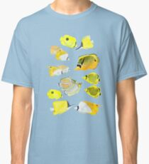 Butterflyfish of the tropical Pacific Classic T-Shirt