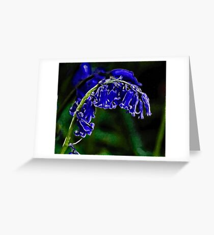 Blubell Greeting Card
