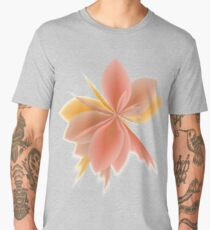Fleur Gradient v4 in Sun-Kissed Sand Men's Premium T-Shirt