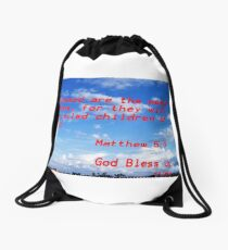 Matthew Drawstring Bag