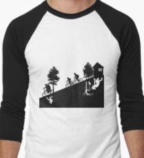 Camiseta ¾ bicolor para hombre The upside down