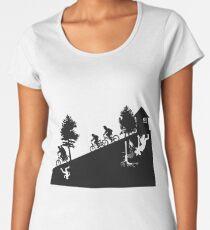 Camiseta premium para mujer The upside down