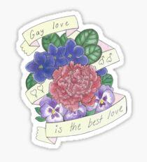 Schwule Liebe ist die beste Liebe Sticker