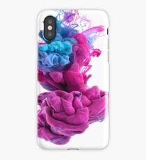 Silky Smooth / Pinky Blue iPhone Case/Skin