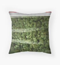 A big old bag of weed pillow case Throw Pillow