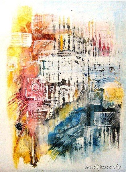 Streets of New York by Olga van Dijk