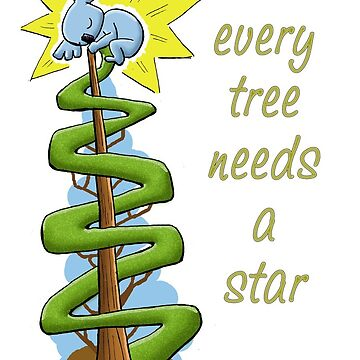 Every Tree Needs a (Koala) Star by eddcross