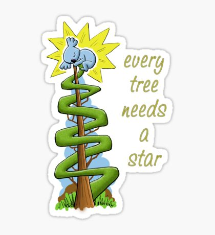 Every Tree Needs a (Koala) Star Sticker