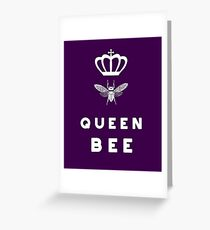 Queen Bee / Königsbiene, Bienen-Königin Greeting Card