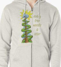 Every Tree Needs a (Koala) Star Zipped Hoodie