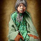 A Taos girl by Kurt  Tutschek