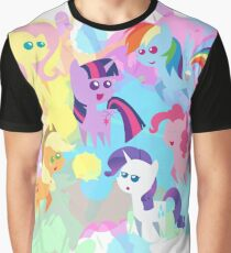 abstract mane six Graphic T-Shirt