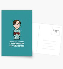 A Cumberbatch Christmas Postcards