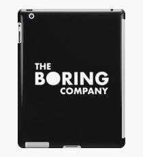 The Boring Company iPad Case/Skin