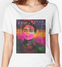 Frida Kahlo Painting  Women's Relaxed Fit T-Shirt