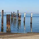 Dunwich Ferry Terminal Jetty by SpottiClogg