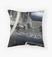 Gull Wing Cockpit Throw Pillow