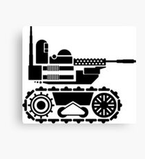 Military Robot Canvas Print