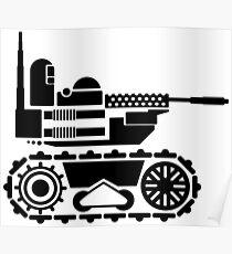 Military Robot Poster