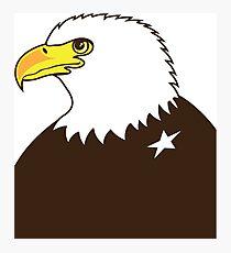 Eagle General Profile Photographic Print