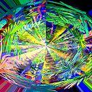 Kaleidoscope, below the rainforest. 2 by Virginia McGowan