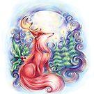 Festive Fox by luciemammone
