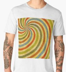 60's swirls Men's Premium T-Shirt