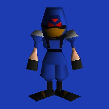 Low Poly Soldier - Final Fantasy VII by sheakennedy