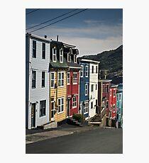 Jellybean Row Photographic Print