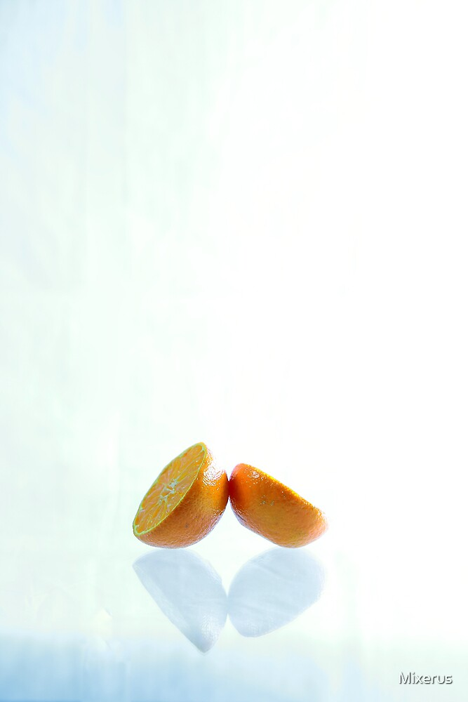 Two oranges by Mixerus
