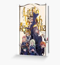 Little Witch Academia Greeting Card