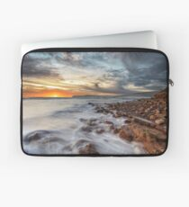Compton Bay Sunset Isle Of Wight Laptop Sleeve