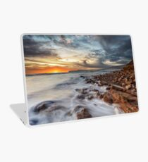Compton Bay Sunset Isle Of Wight Laptop Skin