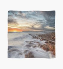 Compton Bay Sunset Isle Of Wight Scarf
