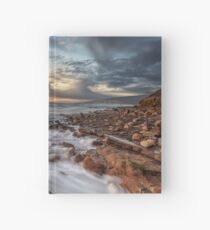 Compton Bay Sunset Isle Of Wight Hardcover Journal