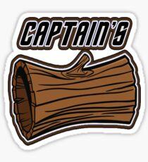 Captains Log Sticker