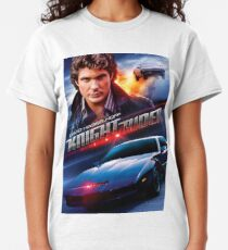 Boys Knight Rider T-Shirt Kit Control Panel Funny David Hasselhoff The Hoff Kids