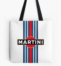 Martini Racing stripe Tote Bag