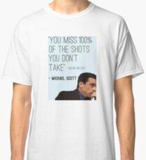 Micheal Scott   Deep thinker Classic T-Shirt