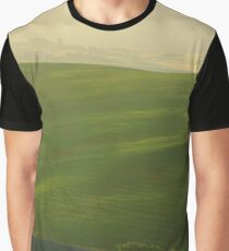 Morning Lights in Val d'Orcia Graphic T-Shirt