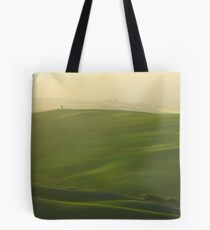 Morning Lights in Val d'Orcia Tote Bag