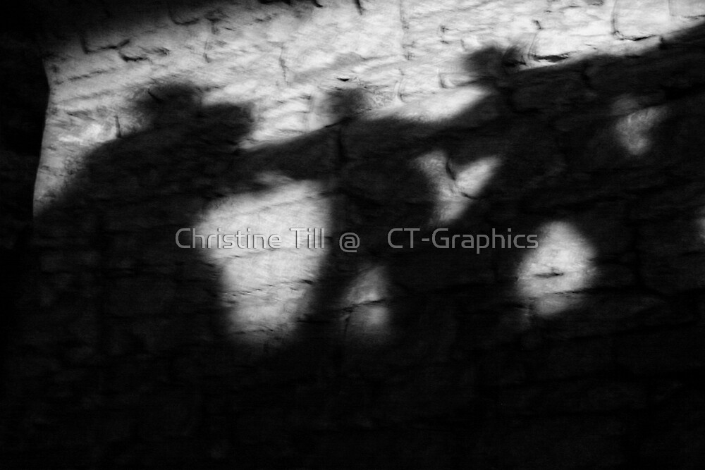Shadows on the Wall by Christine Till  @    CT-Graphics