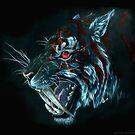 Smilodon by drakhenliche