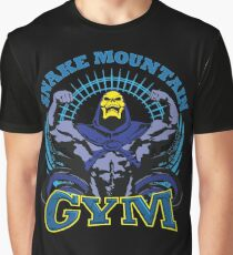 SNAKE MOUNTAIN GYM Graphic T-Shirt