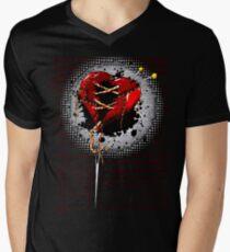 """""""Tattered"""" 2 Mens V-Neck T-Shirt"""