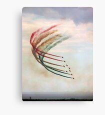 Red Arrows Canvas Print