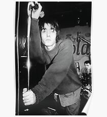 Liam Gallagher Pose Poster