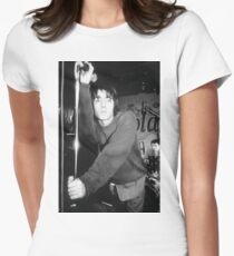 Liam Gallagher Pose Women's Fitted T-Shirt