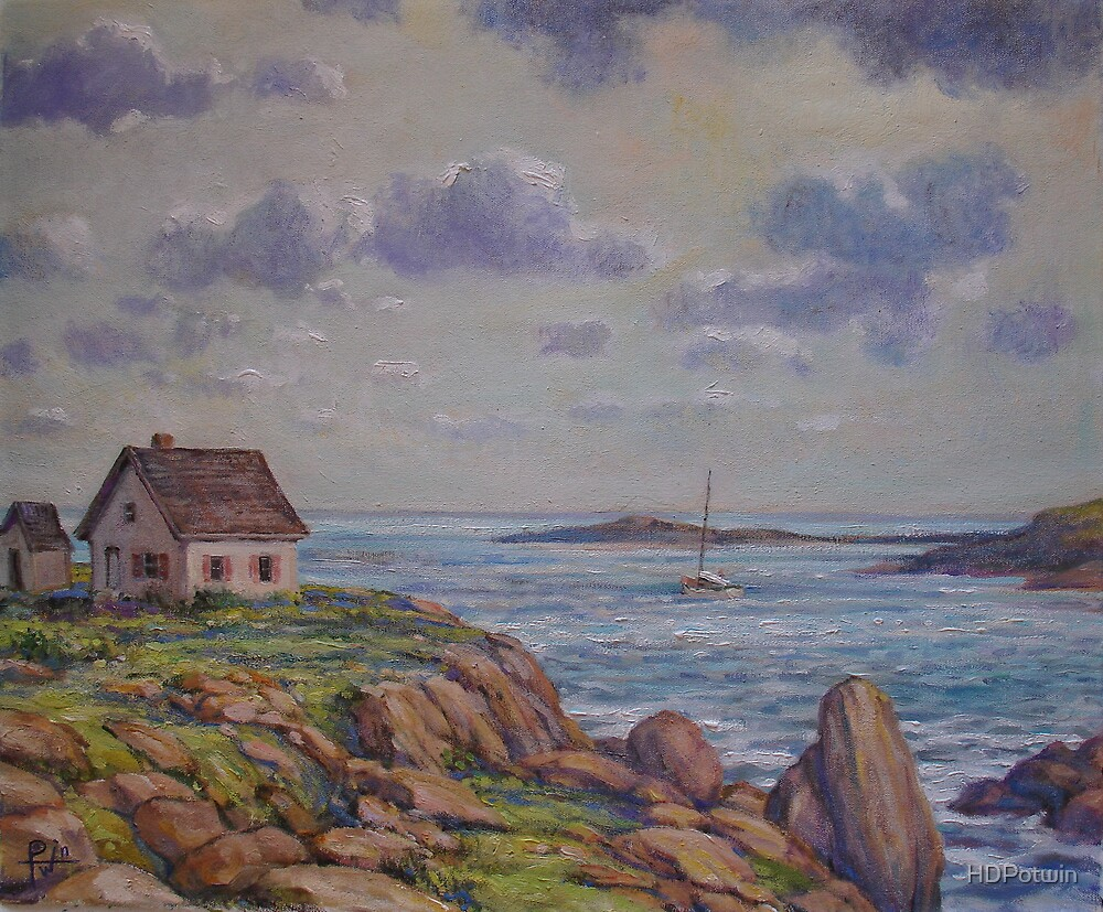 Cottage on the Coast by HDPotwin